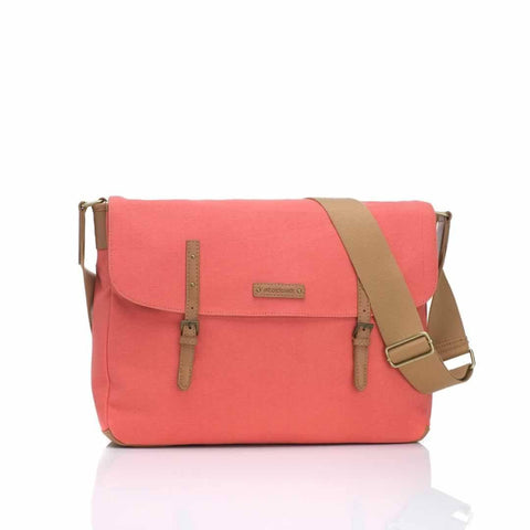 Storksak Changing Bag - Ashley - Coral - Changing Bags - Natural Baby Shower
