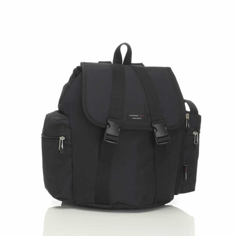 Storksak Changing Bag - Backpack in Black