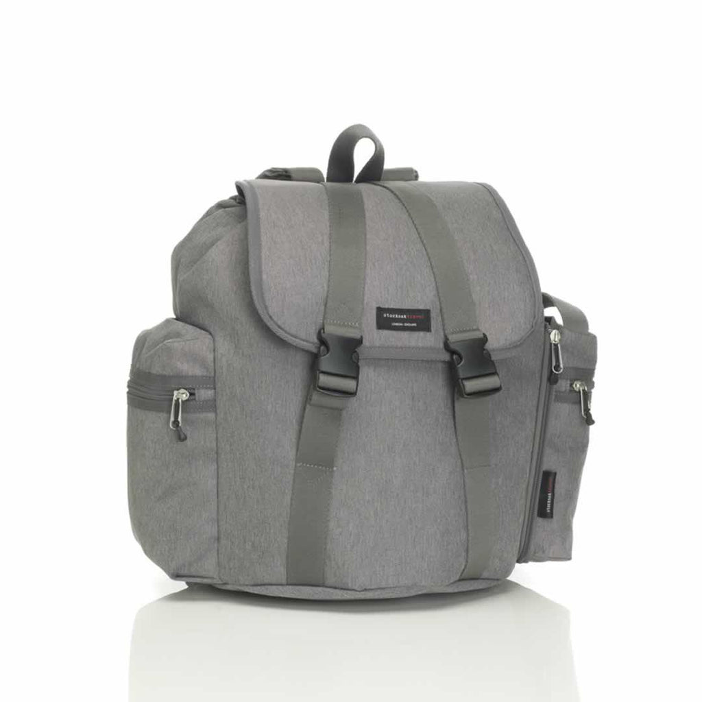 Storksak Changing Bag - Backpack in Grey
