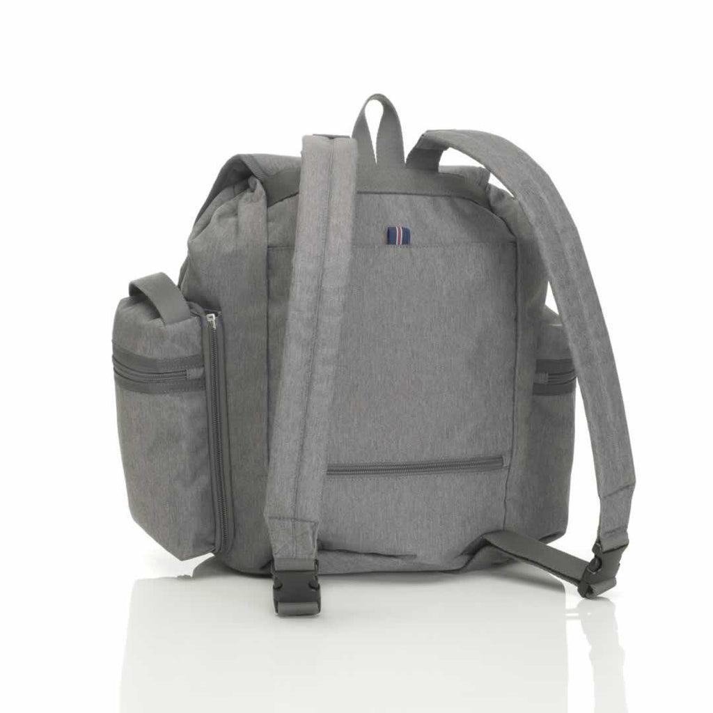 Storksak Changing Bag - Backpack - Grey Back