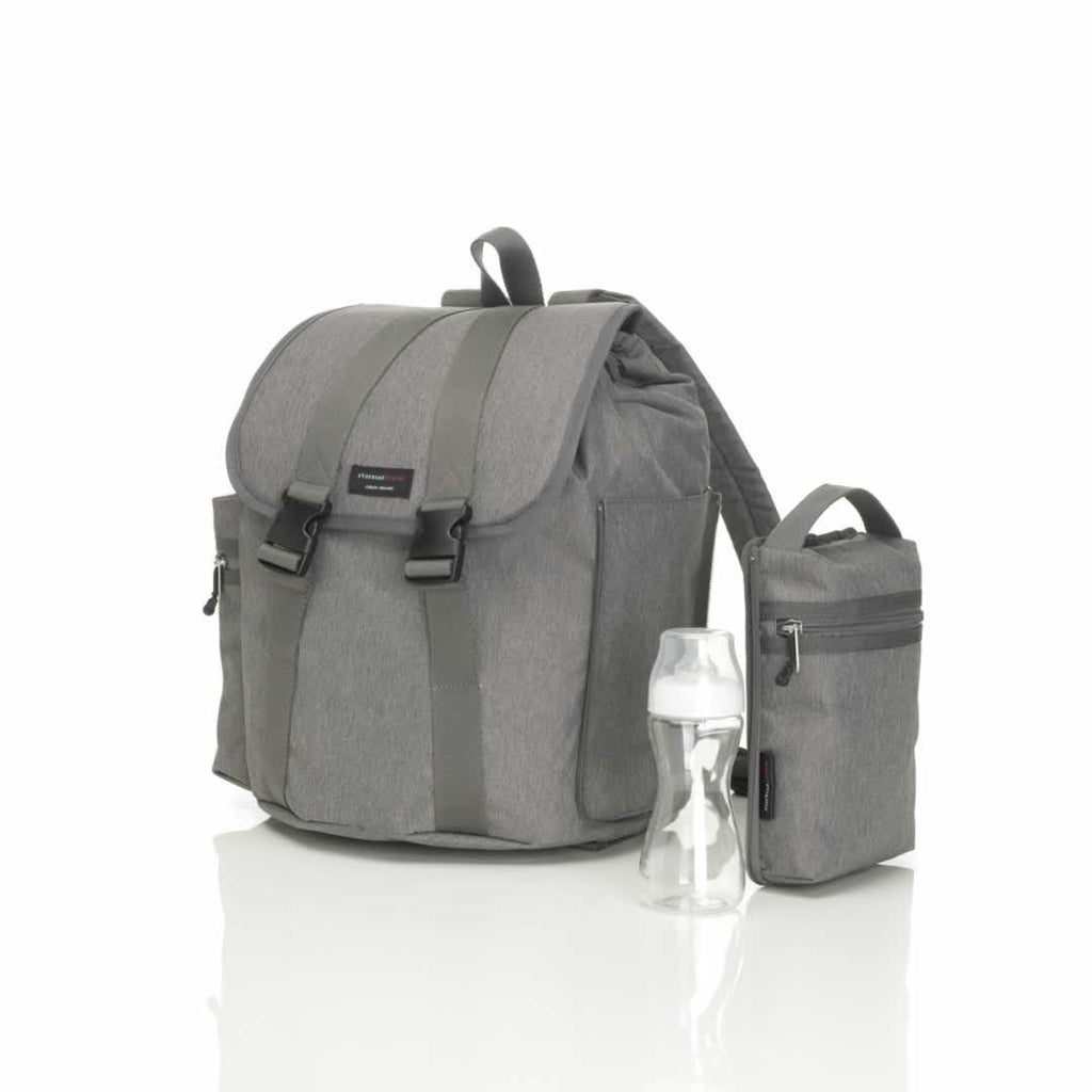 Storksak Changing Bag Backpack Grey