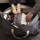 Storksak Changing Bag - Cabin Carry-On - Grey Lifestyle