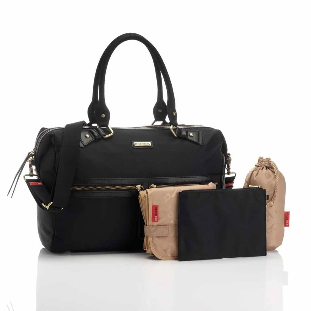 Storksak Changing Bag Caroline Nylon Black