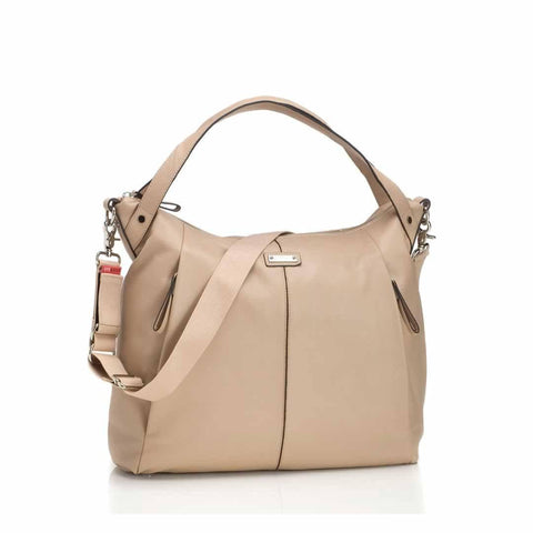 Storksak Changing Bag - Catherine Leather - Almond - Changing Bags - Natural Baby Shower