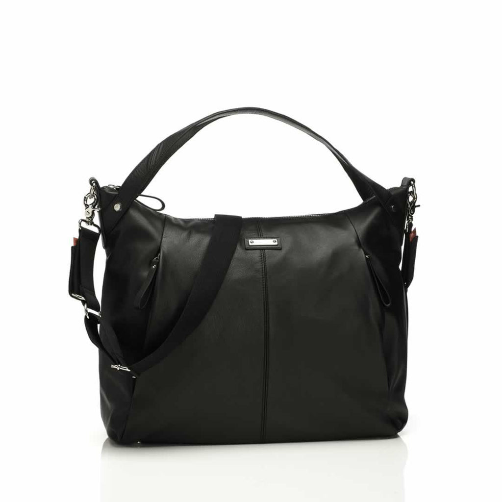 Storksak Changing Bag - Catherine Leather in Black