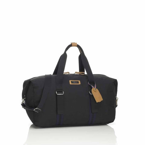 Storksak Changing Bag - Duffle - Black-Changing Bags- Natural Baby Shower