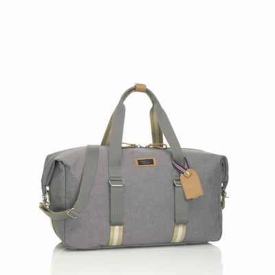 Storksak Changing Bag - Duffle - Grey-Changing Bags- Natural Baby Shower