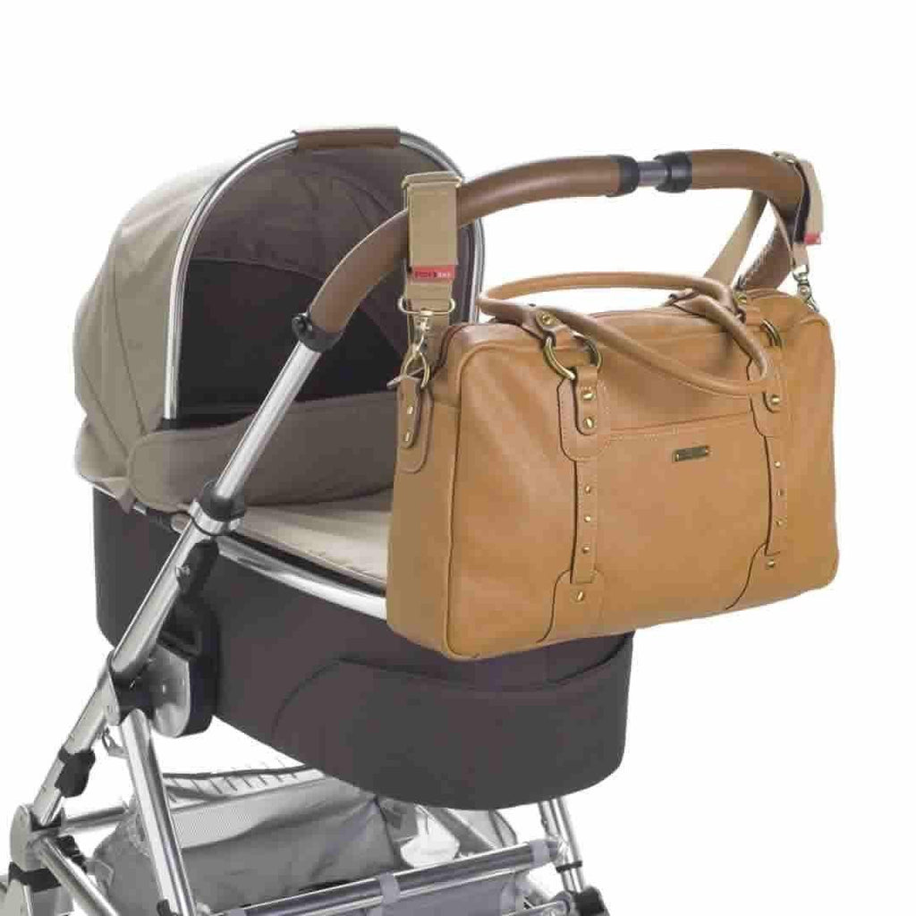 Storksak Changing Bag - Elizabeth - Tan Stroller
