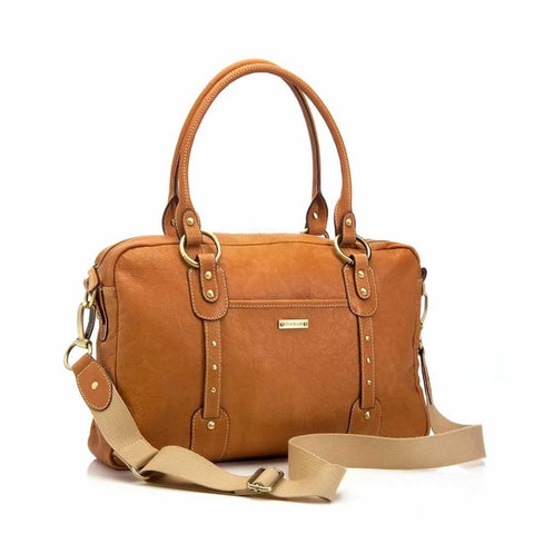 Storksak Changing Bag - Elizabeth in Tan