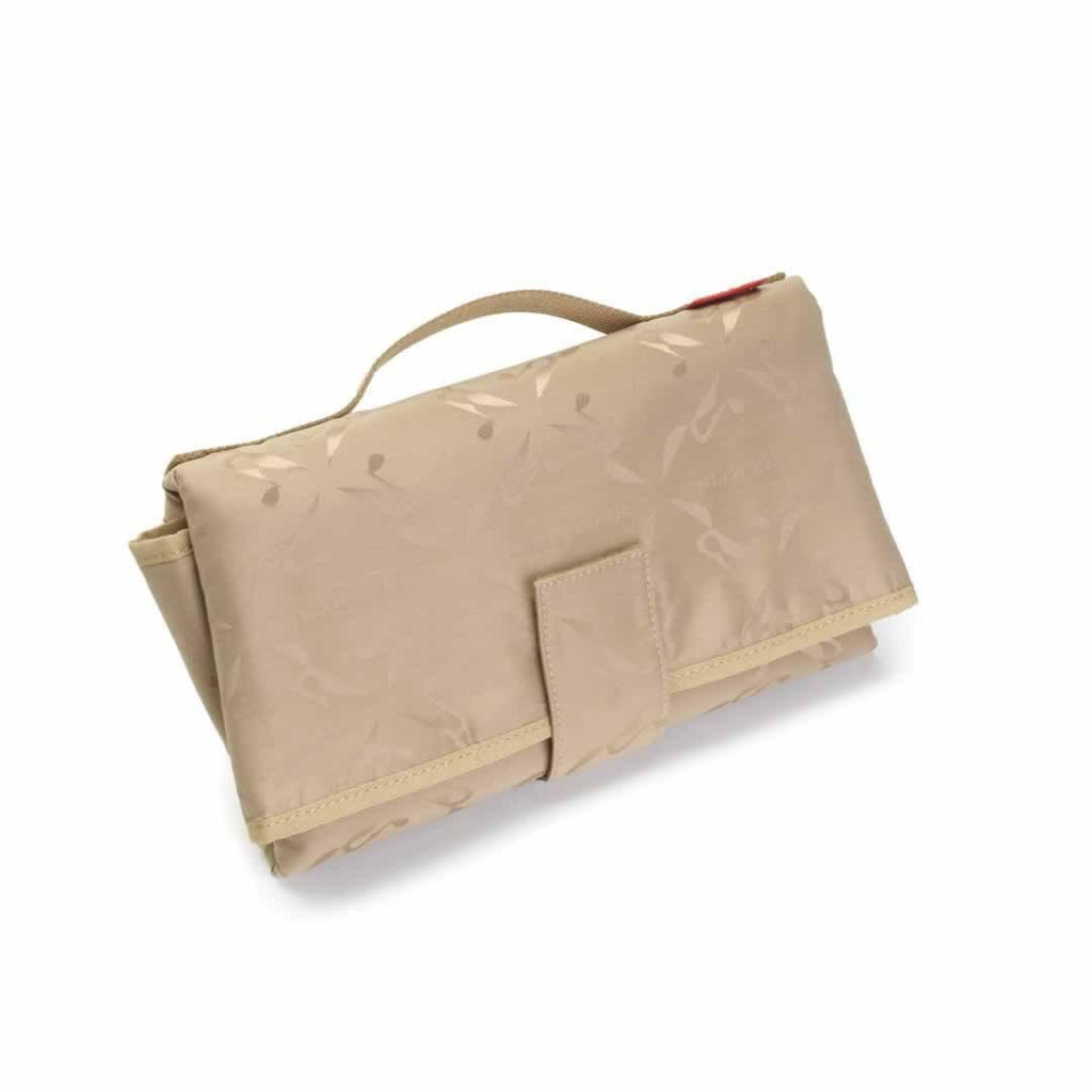 Storksak Changing Bag - Emma - Leather Tan Changing Mat