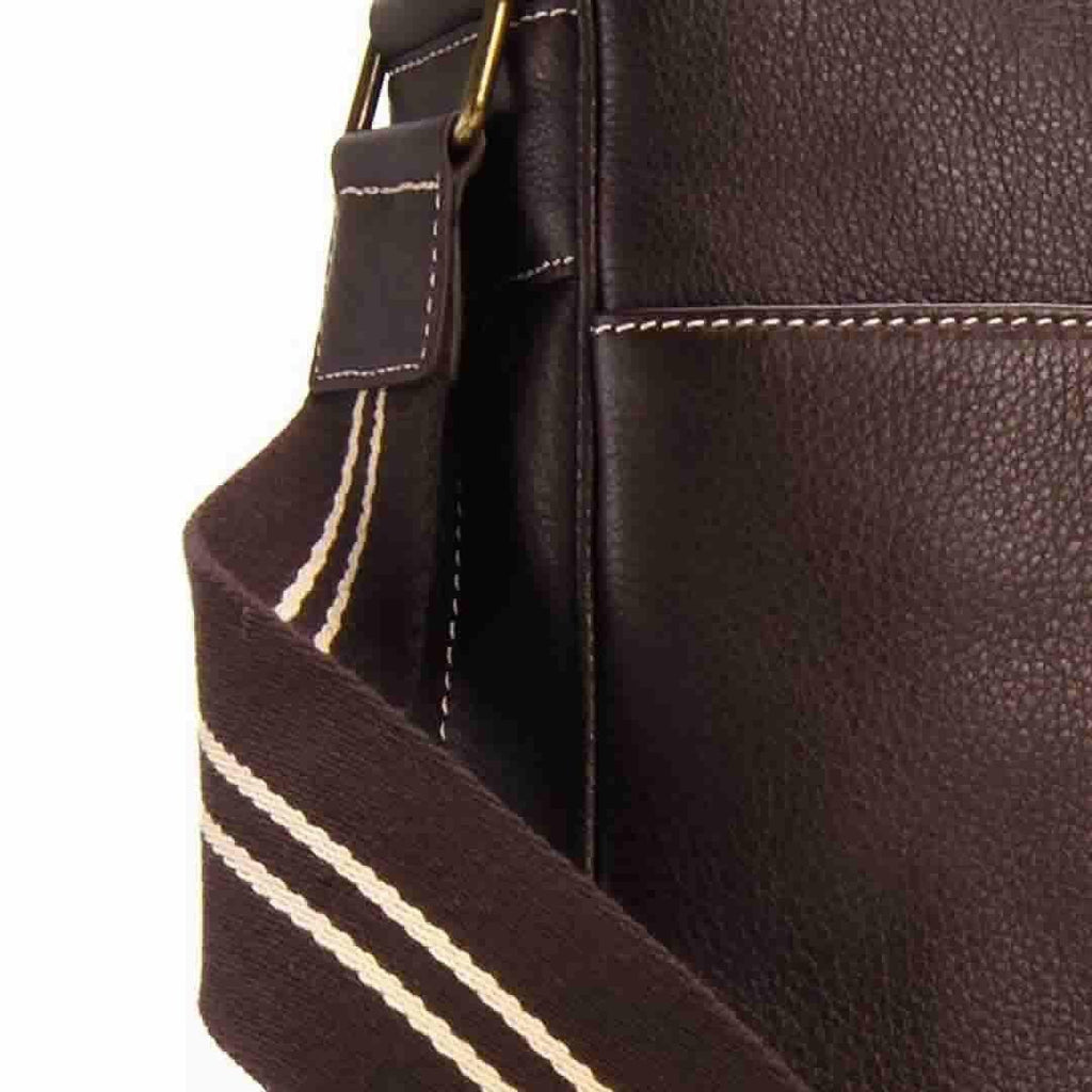 Storksak Changing Bag - Jamie - Espresso Detail