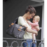 Storksak Changing Bag - Kay - Grey Lifestyle