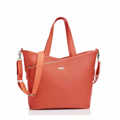 Storksak Changing Bag - Lucinda - Sunset Orange - Changing Bags - Natural Baby Shower