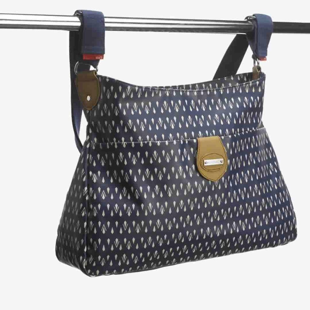 Storksak Changing Bag - Nina - Teardrop Navy Attached