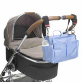 Storksak Changing Bag - Noa - Powder Blue Stroller