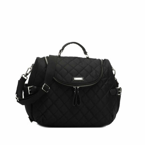 Storksak Changing Bag - Poppy in Black