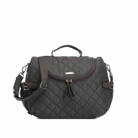Storksak Changing Bag - Poppy in Charcoal