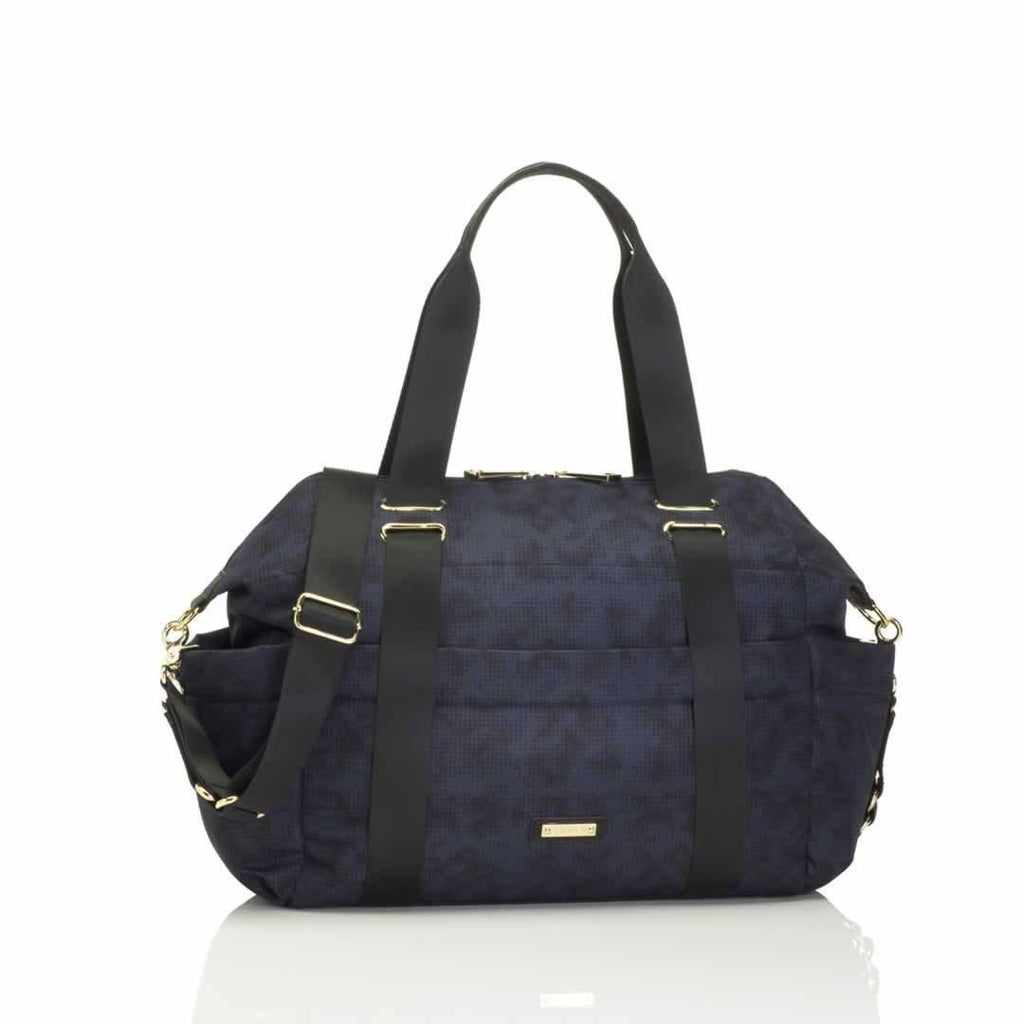 Storksak Changing Bag - Sandy in Print Blue