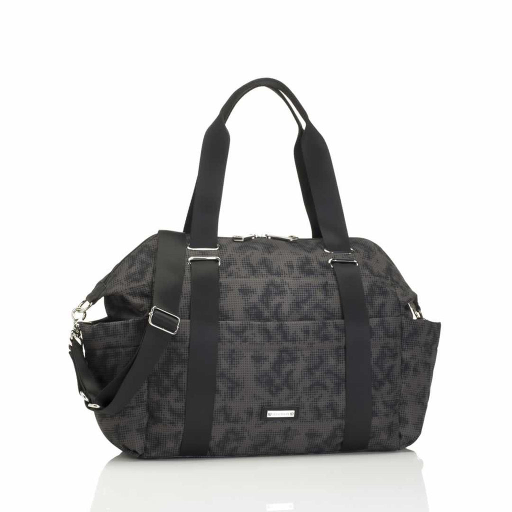 Storksak Changing Bag - Sandy in Print Grey
