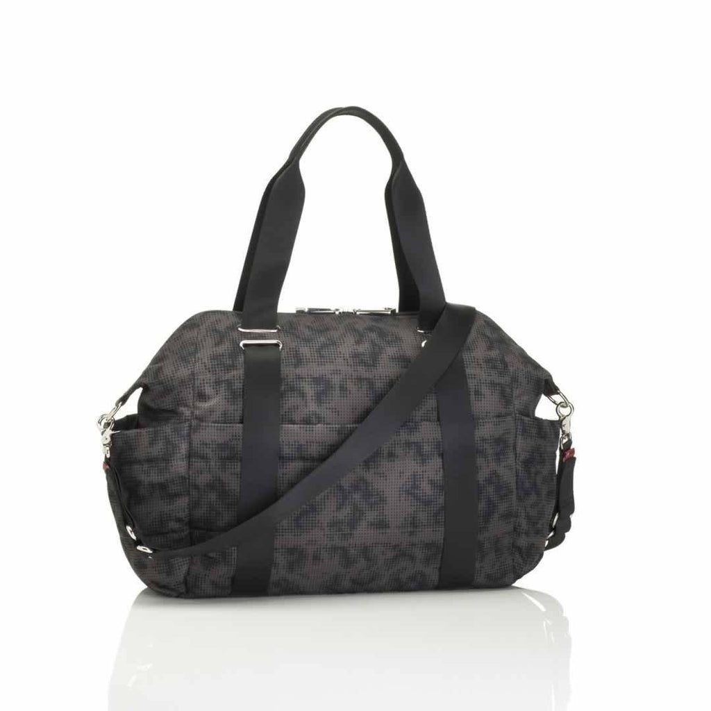 Storksak Changing Bag - Sandy - Print Grey Back