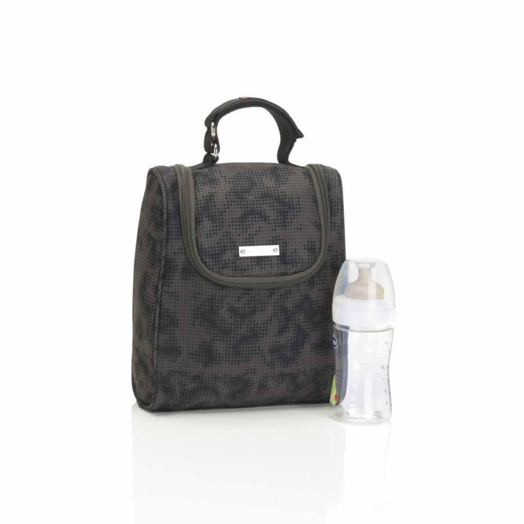 Storksak Changing Bag - Sandy - Print Grey FAB
