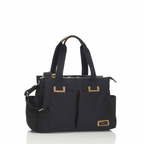 Storksak Changing Bag - Shoulder Bag in Black