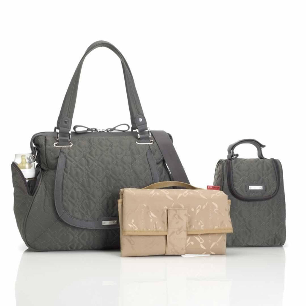 Storksak Changing Bag - Anna Quilted Charcoal