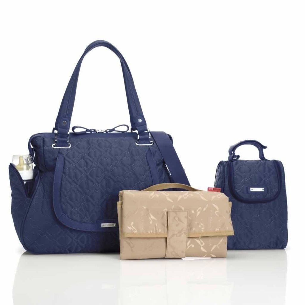 Storksak Changing Bag - Anna Quilted Navy