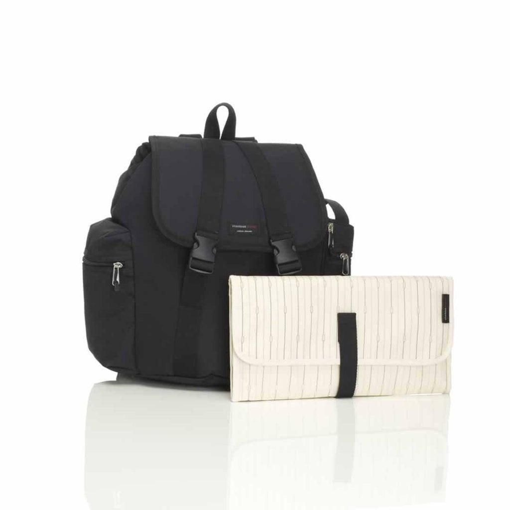 Storksak Changing Bag - Backpack - Black-Changing Bags- Natural Baby Shower