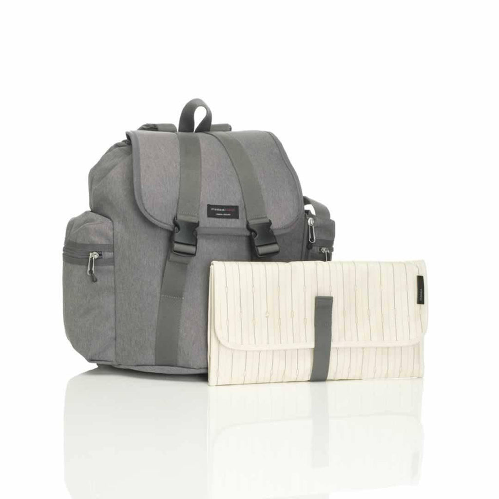 Storksak Changing Bag Backpack in Grey