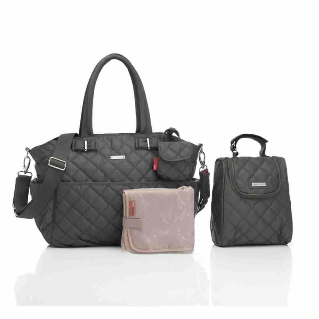 Storksak Changing Bag Bobby - Charcoal
