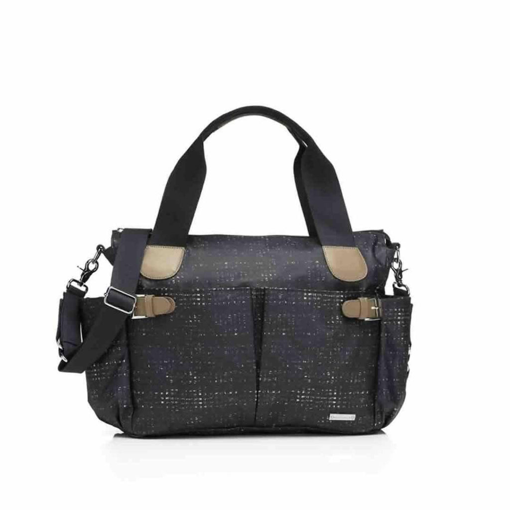Storksak Kay Changing Bag in Crosshatch Navy