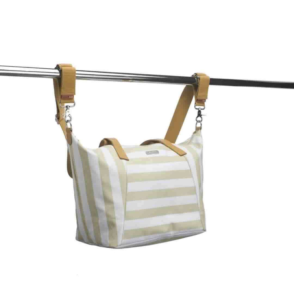 Storksak Noa Changing Bag Jumbo Stripe Fawn