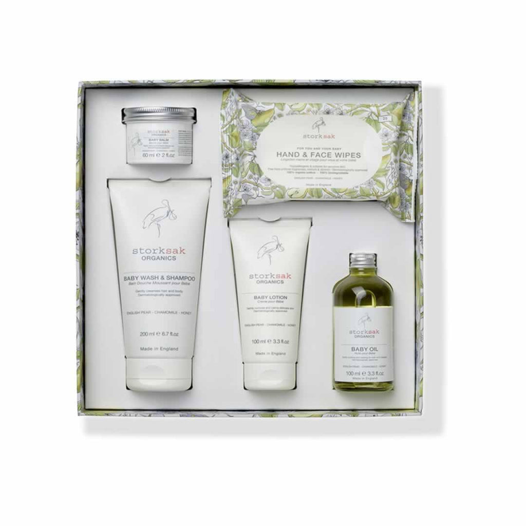 Storksak Organics Baby Spa Gift Box - Gift Sets - Natural Baby Shower