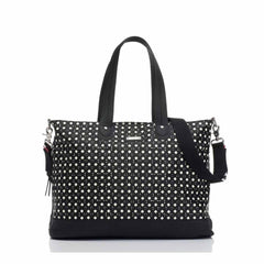 Storksak Changing Bag - Tote in Diamonds Black