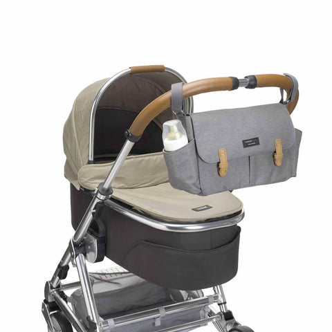 Storksak Travel Stroller Organiser in Grey