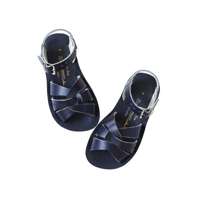 Salt-Water Sun-San Kids Sandals - Swimmer - Navy-Sandals- Natural Baby Shower
