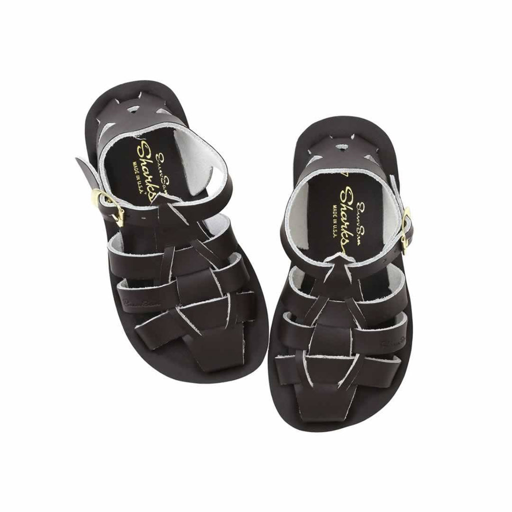 Sun-San Saltwater Sandals Shark in Brown