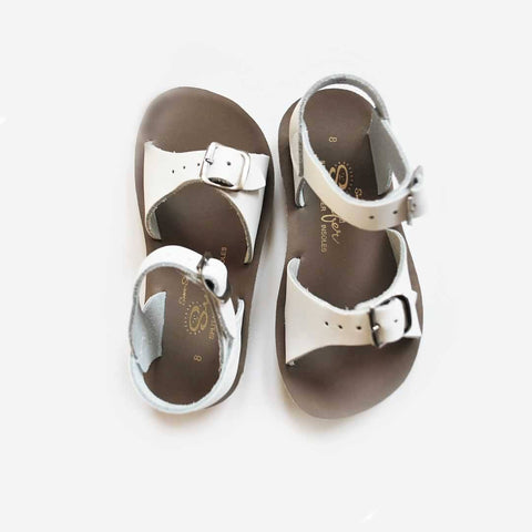 Sun-San Saltwater Sandals - Surfer - White - Sandals - Natural Baby Shower