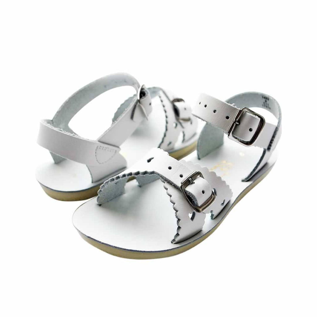 Sun-San Saltwater Sweetheart Sandals White