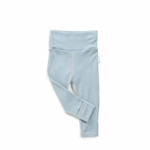 Superlove Merino Baby Leggings - Cloud Grey-Pants- Natural Baby Shower