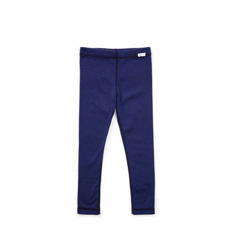 Superlove Merino Kids Leggings - French Navy-Pants- Natural Baby Shower