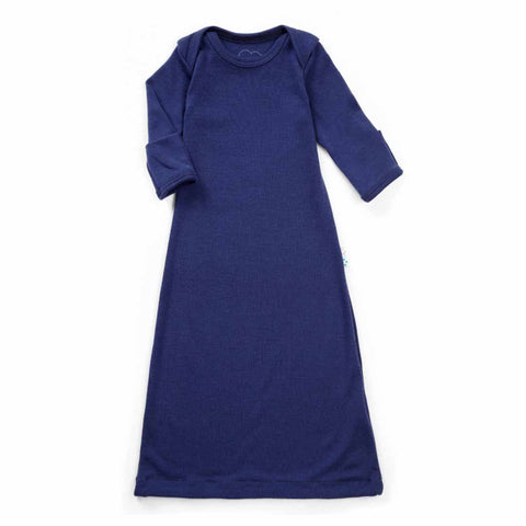 Superlove Merino Sleep Gown - French Navy-Sleep Gowns- Natural Baby Shower