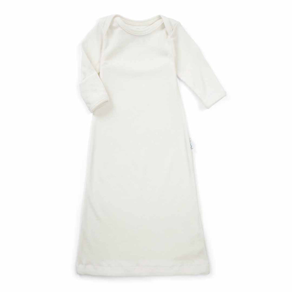 Superlove Merino Sleep Gown - Ivory – Natural Baby Shower