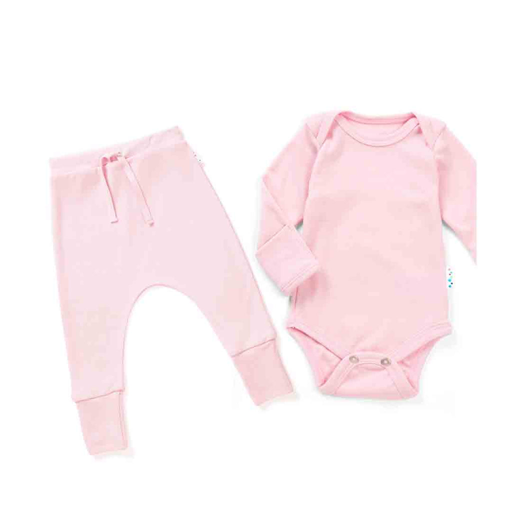 763630bf7d0 Superlove Superfine Merino Baby Set - Blush Pink-Base Layers- Natural Baby  Shower