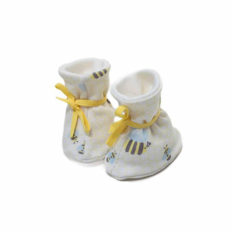 Superlove Cotton & Merino Booties in Bumble
