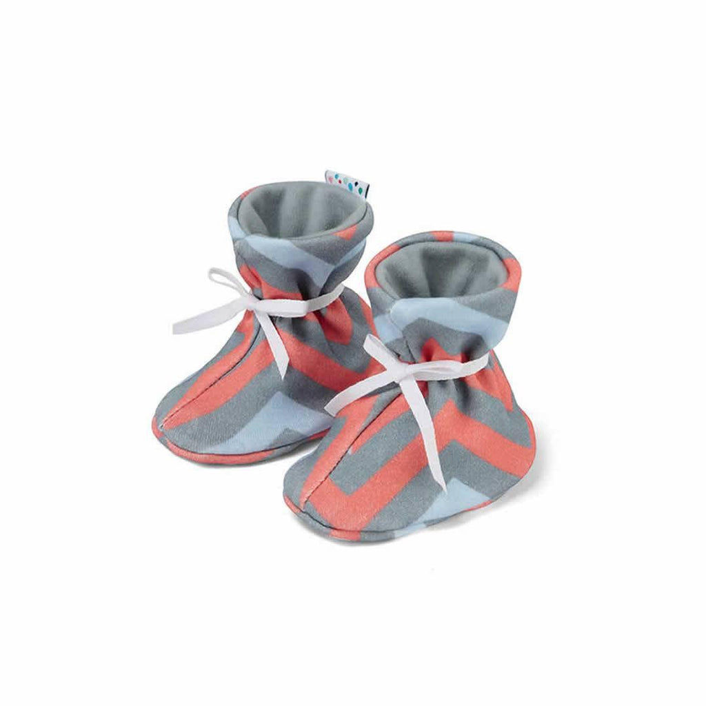Superlove Cotton & Merino Booties in Digital Native
