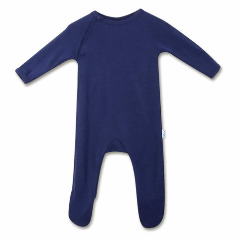 Superlove Merino Baby Sleepsuit - French Navy