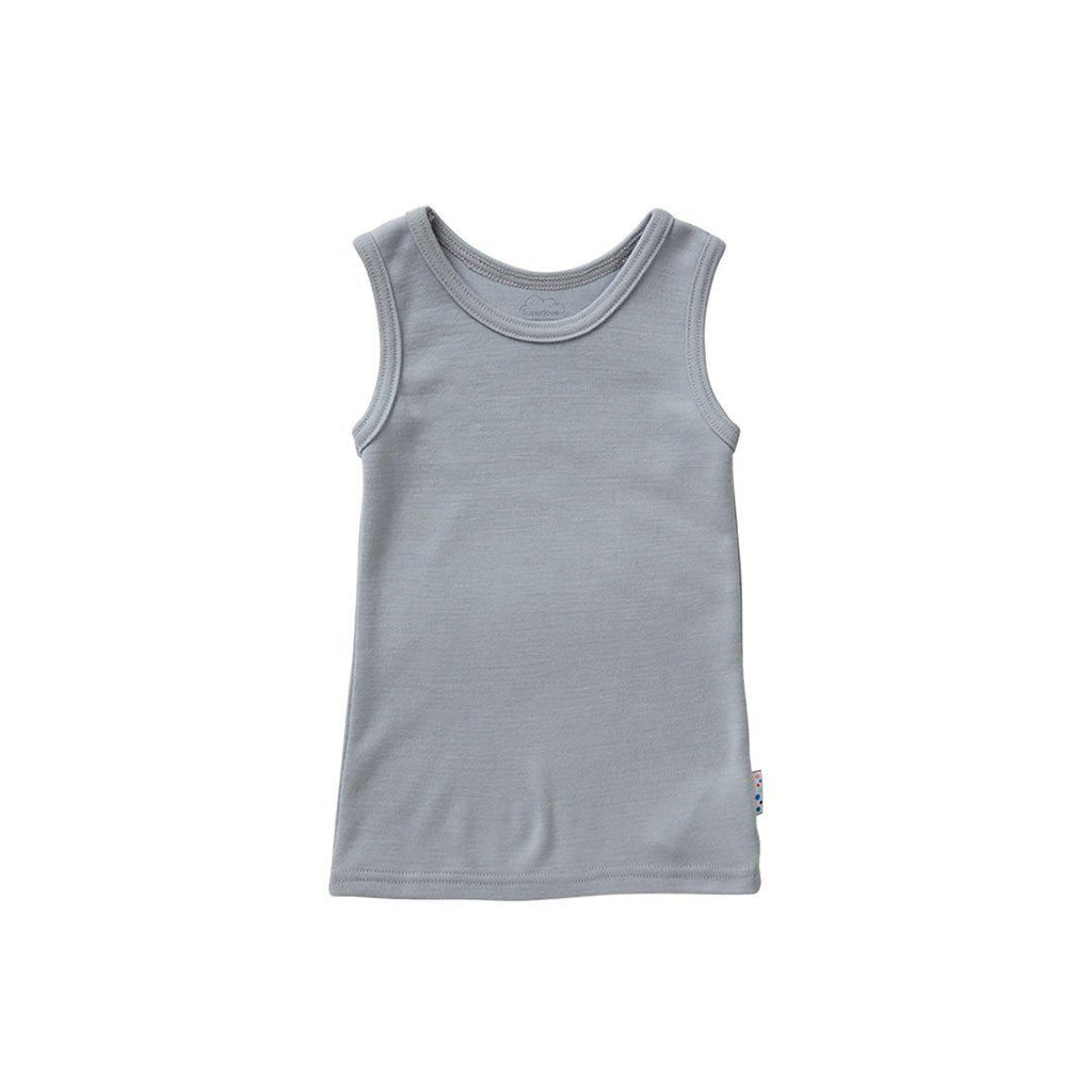 Superlove Merino Kids Supervest - Cloud Grey - Bodies & Vests - Natural Baby Shower
