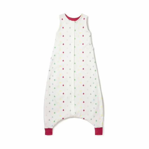 Superlove Organic Cotton & Merino Toddler Sleeping Bag in Rainbow Drops